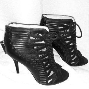 New Leather Booties - Sz 6.5